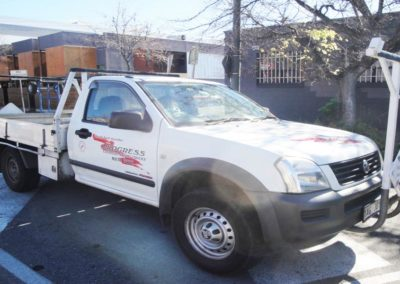 Progress Couriers courier and taxi trucks in Adelaide